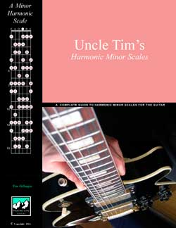 Uncle Tim's Harmonic Minor scales