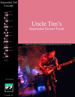 Uncle Tim's Suspended Second Triads