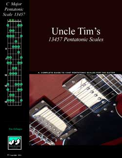 Uncle Tim's 12357 Pentatonic Scales